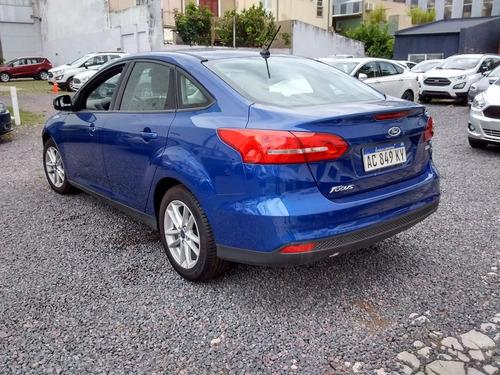 ford focus iii sedan s 1.6 2018   usado