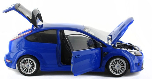 ford focus rs 500 azul  2010 - 1:18 minichamps