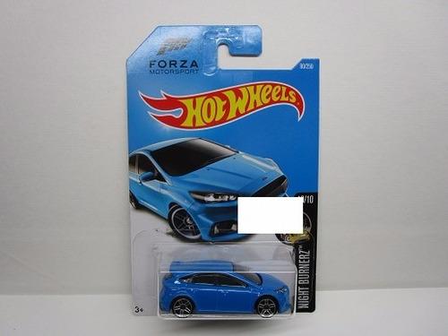 ford focus rs forza escala pequeña coleccion hot wheels