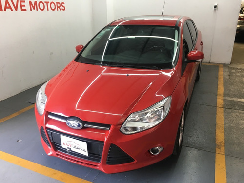 ford focus se plus 4ptas 2014 rojo oiw