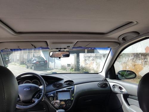 ford focus sedan 2.0 ghia aut. 4p couro e teto impecável!!!!