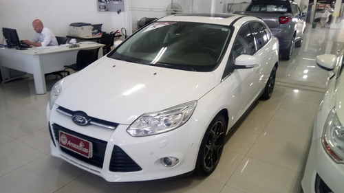 ford focus sedan 2.0 titanium plus flex aut. 4p 14/15