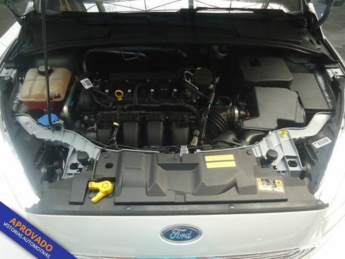 ford focus titanium hatch plus 4p automático flex