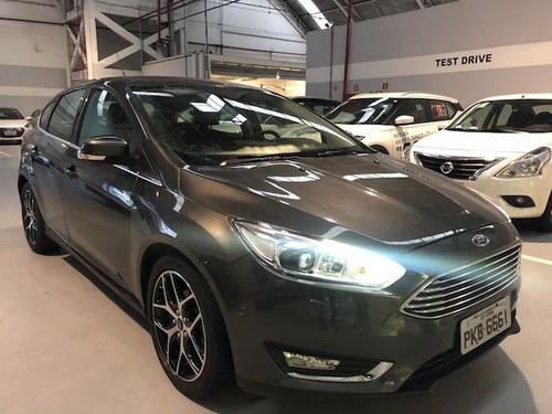 ford focus titanium plus 2.0 powershift, garantia de fabrica