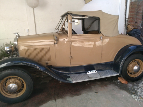 ford ford a 1931  ford a 1931 nacional