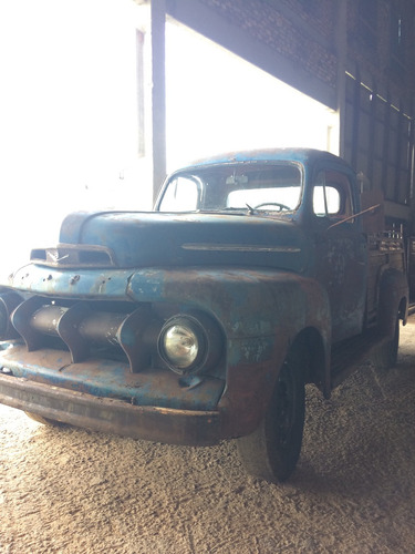 ford ford f1 1951 1952