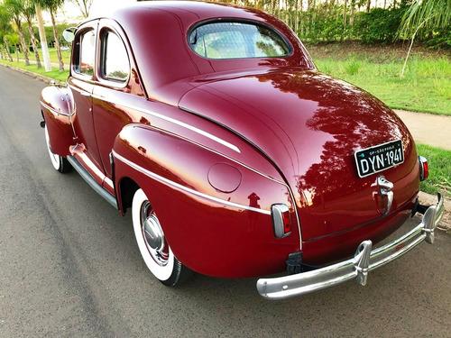 ford fordao coupe v8 1941 placa preta aceit troca dodge f100