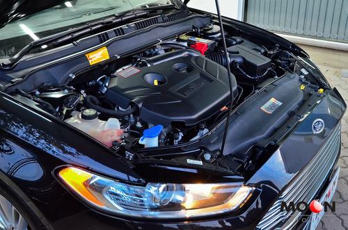 ford fusion 2.0 gtdi titanium awd 240cv 2014 preto impecável