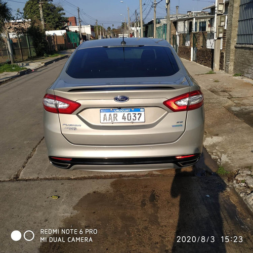 ford fusion 2.0 se luxury at 2015