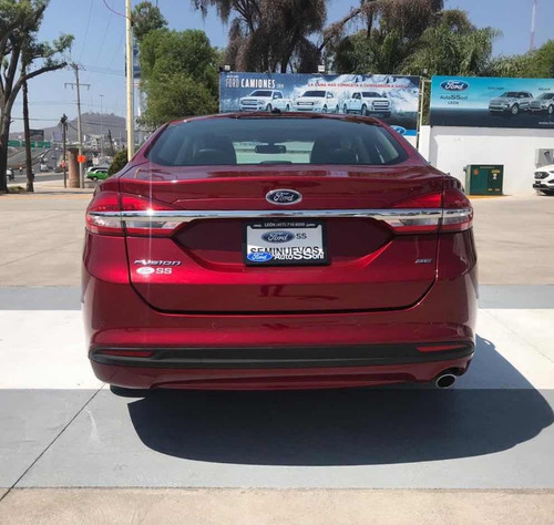 ford fusion 2.0 se luxury plus at 2017