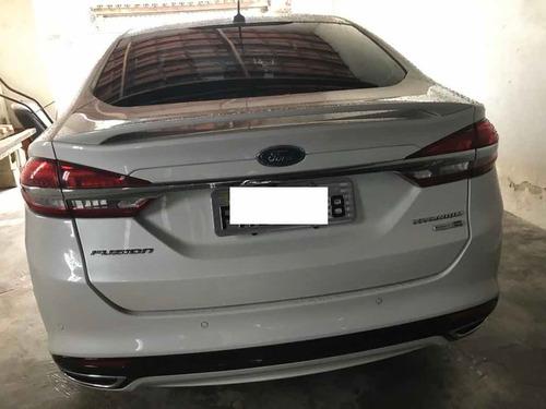 ford fusion 2.0 titanium ecoboost awd aut. 4p 2017