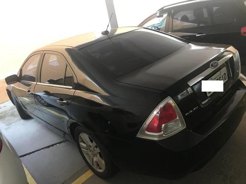 ford fusion 2.3 sel aut. 4p, gasolina, preto,  ipva pago