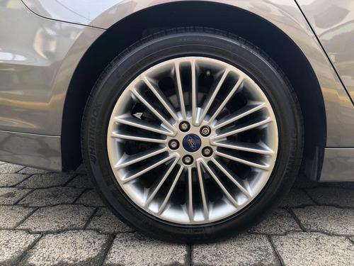 ford fusion 2.5 se luxury l4 piel mt