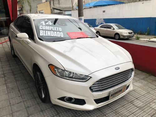 ford fusion fwd gtdi 2014/2014 gasolina blindado