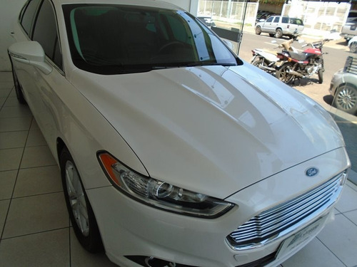 ford fusion i-vct 2.5 branco 2015