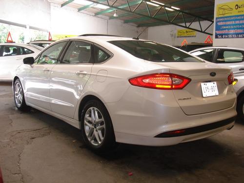 ford fusion se advance 2016 piel qc gps factura de agencia