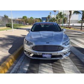 Ford Fusion Se Advance Nav 2.5l I4 2017 Seminuevos