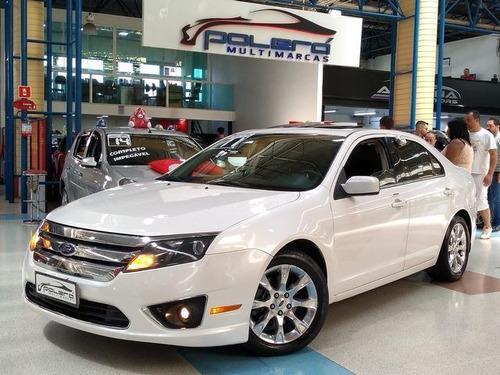 ford fusion sel 3.0 4wd automático 2011 branco c/ teto solar