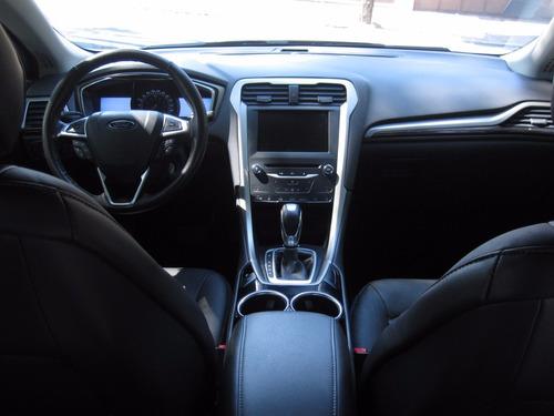 ford fusion turbo luxury 2013  rin 18 piel unico dueño
