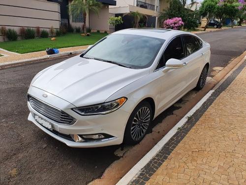 ford fusion,completo,branco perola,aceita troca.