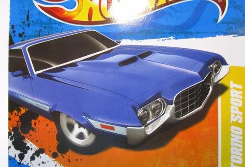 ford gran torino escala 1/64 coleccion hot wheels