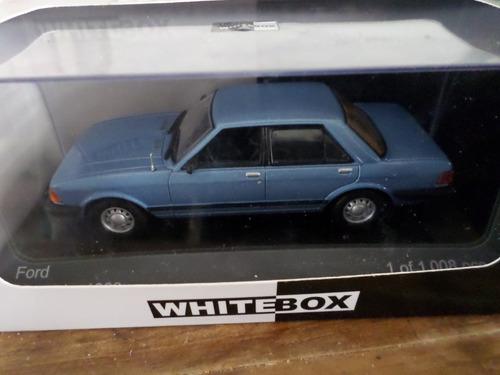 ford granada white box esc. 1:43