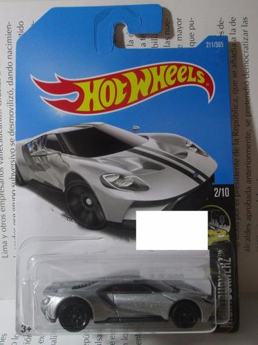 ford gt 2017 escala 1/64 coleccion hot wheels a3