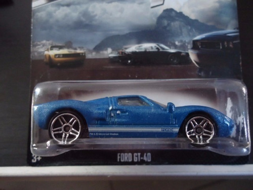 ford gt-40 rápidos y furiosos hot wheels (único disponible)