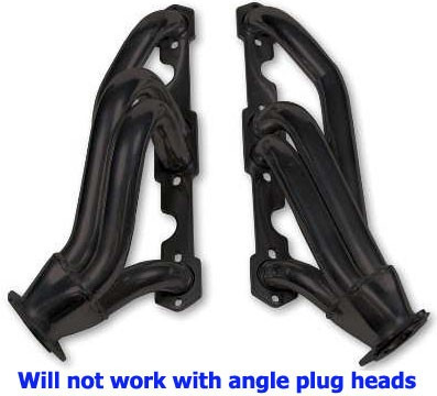 ford headers tubo negro 6 y 8 cilindros