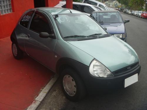 ford ka 1.0 gl 3p verde 2001/2001