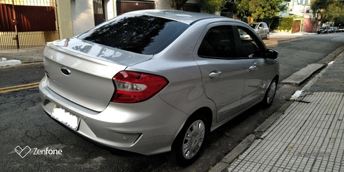 ford ká 1.5 se plus sedan - autom.- prata 2019-(único dono)