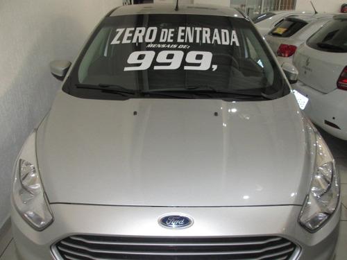 ford ka+ 1.5 sedan  zero de entrada + 60 x 999,00 fixas