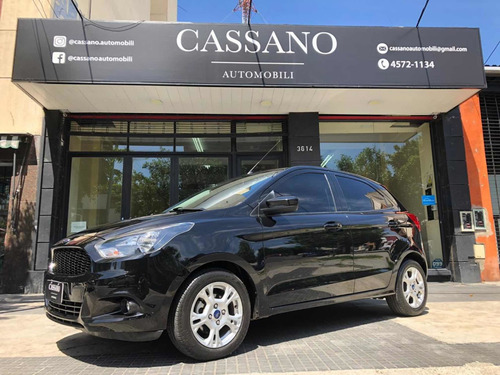 ford ka 1.5 sel 4 p 2017 negro cassano automobili