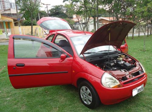 ford ka 1999/1999 motor 1.0 mpi faz 15 km/lt pneus novos