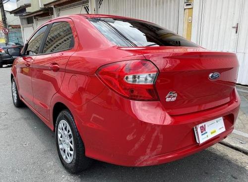 ford ka 2017 sedan 1.5 vermelho impecavel periciado winikar!