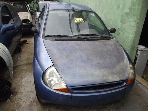 ford ka 99, cambio, porta, lateral - sucata em peças