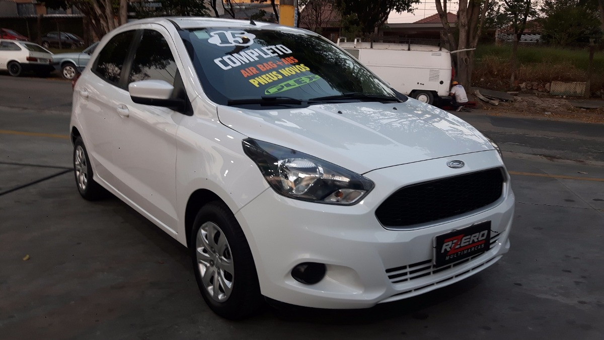 ford ka hatch 2015 completo 1 5 flex impecavel km r em mercado libre. Black Bedroom Furniture Sets. Home Design Ideas