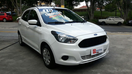 ford ka hatch 2016 completo impecavel 28.000 km novo