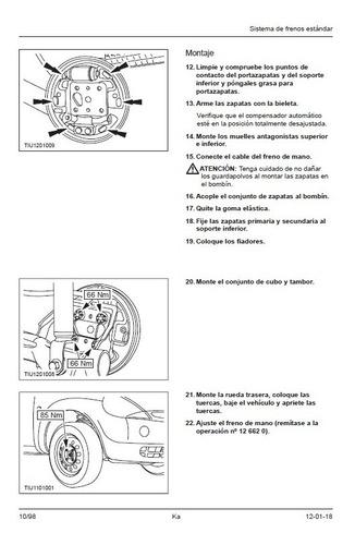 ford ka + manual de taller envio x mail
