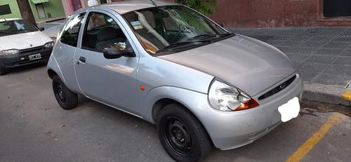 ford ka motor 1.0 2000 gris 3 puertas