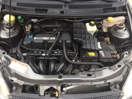 ford ka motor 1.6 año 2007, color gris plomo