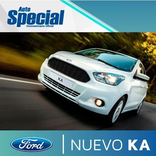 ford ka s se sel 1.5l  5 puertas financiado tasa 0%