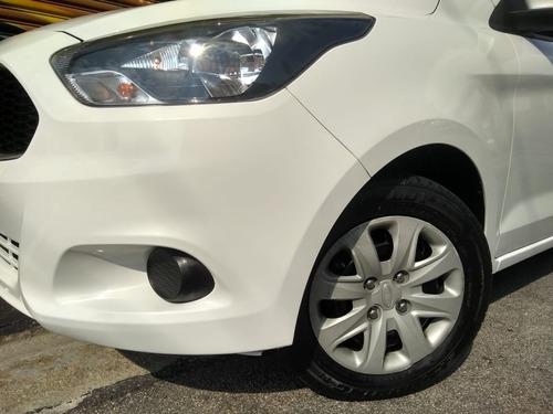 ford ka se 1.0 flex 2017 branco completo  muito novo!!