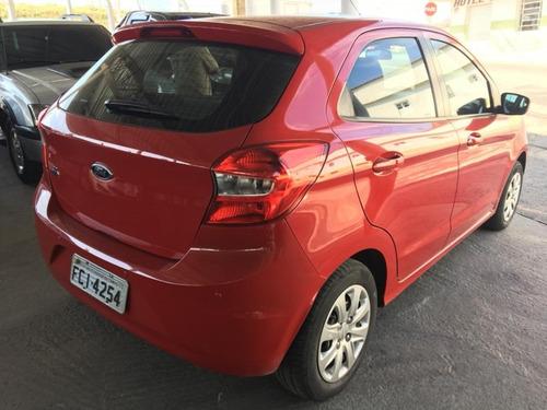 ford ka se 1.0 vermelho 2015