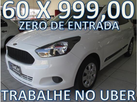 Ford Ka Se Flex Completo Zero De Entrada  Fixas