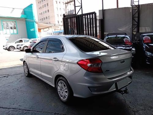 ford ka+ sedan se 1.5 flex automático 2019 prata
