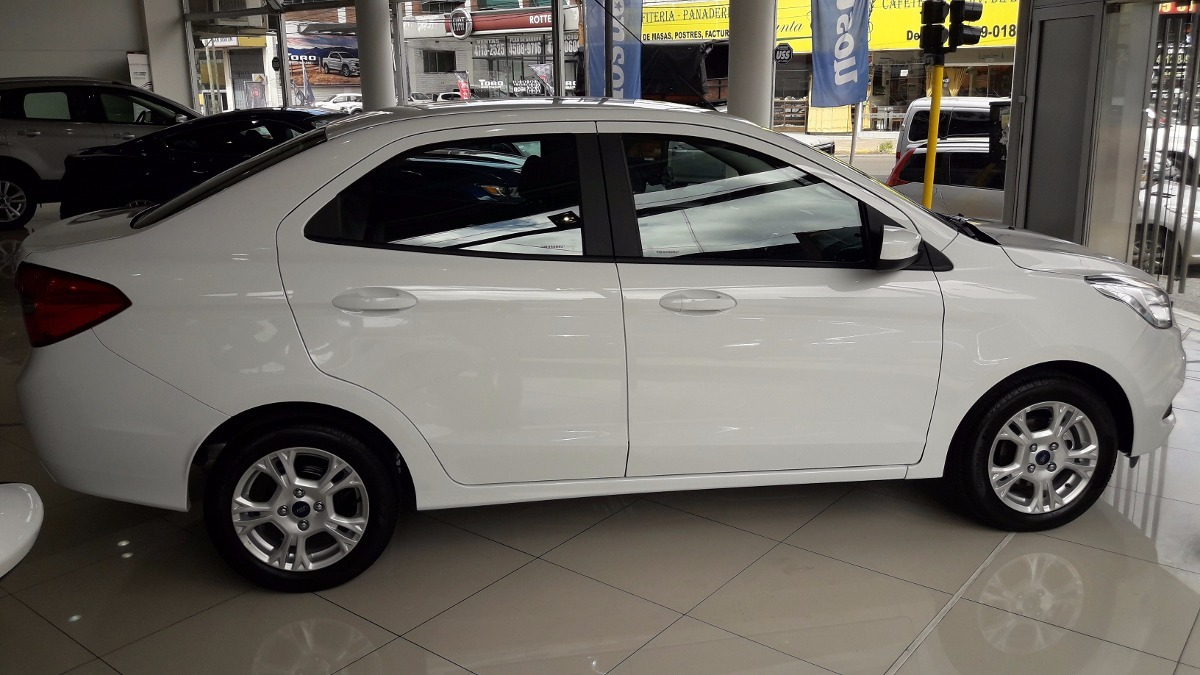 Ford Ka Sel  Km  Puertas Sedan Blanco