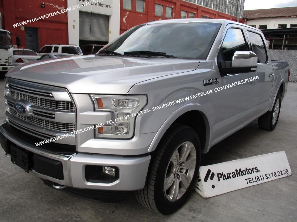 Ford Lobo 2016 >> Ford Lobo 2016 Platinum 4x4 Quemacocos Piel Rines 639 000