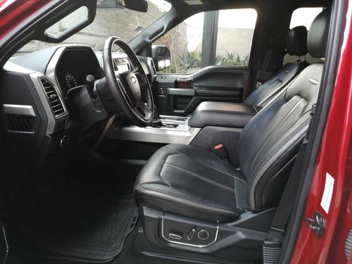 ford lobo 3.5 doble cabina plinum 4x4 at 2016