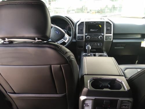 ford lobo 3.5 doble cabina plinum 4x4 at 2019 nuevo